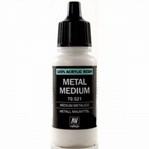 Metal Medium 17ml.