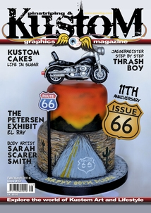 Pinstriping & Kustom Graphics Magazine Nr.65