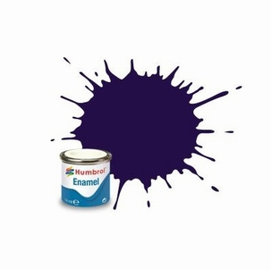 68 Humbrol enamel 14ml. Purple 68