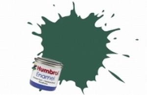 116 Humbrol enamel 14ml. Us dark green 116