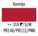 Amsterdam Acryl Marker Karmijn 318