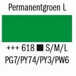 Amsterdam Acryl Marker Permanentgroen Licht 618