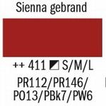 Amsterdam Acryl Marker Sienna Gebrand 411