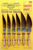 Mack Series  20 Touch up Sword striper Set All 6
