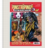 Pinstriping & Kustom Graphics Magazine Nr. 16
