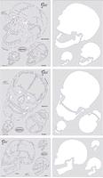 Artool Horror of Skullmaster Complete set of all