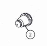 Nozzle cap 0,3mm TR1