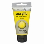 Reeves Acrylic Lemon Yellow 100