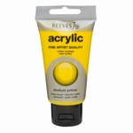 Reeves Acrylic Medium Yellow 120