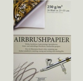 Airbrush Papier & Karton