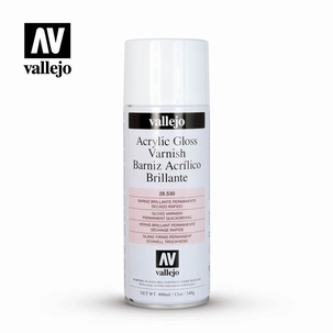 Acrylic Aerosol Varnish Gloss 400 ml.
