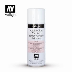 Acrylic Aerosol Varnish Gloss 400 ml.