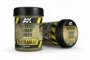 AK Watergel Swamp Green 250ml.