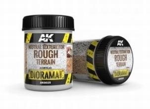 AK Neutral Texture for Rough Terrains 250ml.