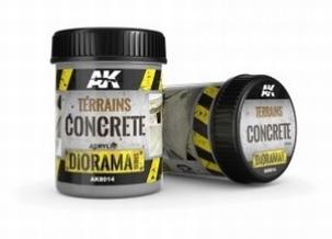 AK Terrains Concrete 250ml.