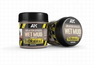 AK Splatter Effects Wet Mud 100ml.