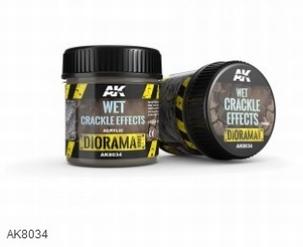 AK Wet Crackle Effects 100ml.