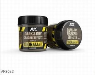AK Dark & Dry Crackle Effects 100ml.