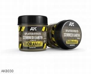 AK Splatter Effects Stirred Earth 100ml.