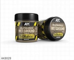 AK Splatter Effects Wet Ground 100ml.