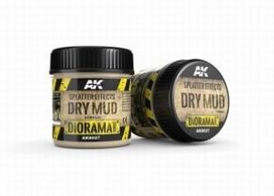 AK Splatter Effects Dry Mud 100ml.