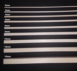 Balsa Vierkant 15mm