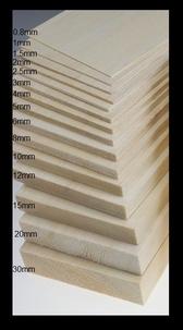 Balsa plank  1,5mm x10cm.