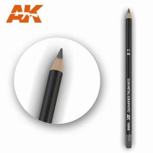 AK10018 Gun Metal (Graphite) Weathering Pencil