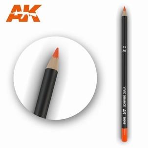 AK10015 Vivid Orange Weathering Pencil