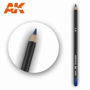 AK10022 Dark Blue Weathering Pencil