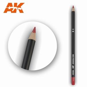 AK10020 Red Primer Weathering Pencil
