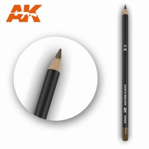 AK10028 Earth Brown Weathering Pencil
