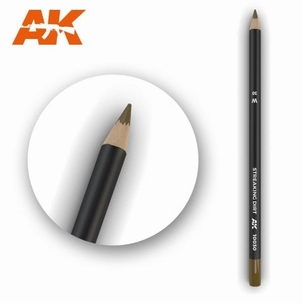 AK10030 Streaking Dirt Weathering Pencil