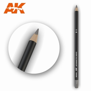 AK10035 Dark Aluminum Weathering Pencil