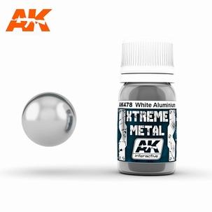 AK Interactive Xtreme Metal White Aluminium