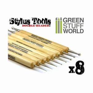 8 x Sculpting Stylus Tool Set