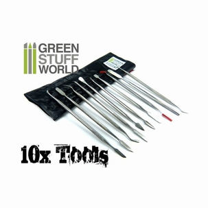10 x Sculpting Tools