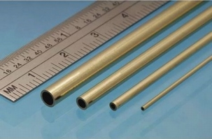 Albion Brass Tube  2mm x 0,45mm x 1,1mm
