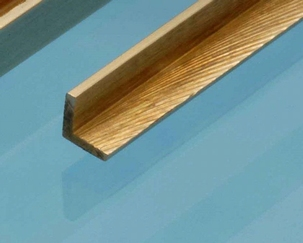 Albion Brass Angle 90° 4mm x 4mm
