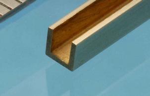 Albion Brass U Channel 1,5mm x 1,5mm x 1,5mm