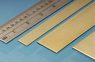 Albion Brass Strip 25mm x 0,4mm