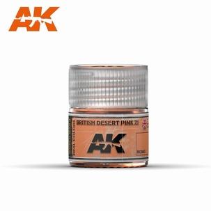 AK Real Colors British Desert Pink ZI