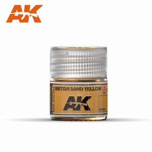 AK Real Colors British Sand Yellow
