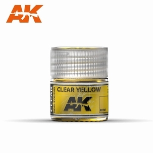 AK Real Colors Clear yellow