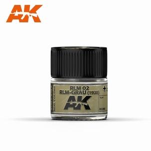 AK Real Colors RLM 02 GLM-Grau (1938)