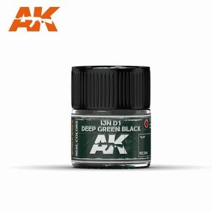 AK Real Colors IJN D1 Deep Green Black