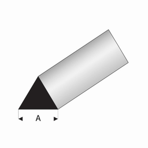 Driehoek profiel 60° 4mm