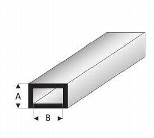 Buisprofiel plat A=4mm   B=8mm
