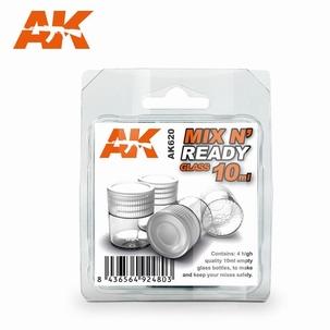 AK Mix n' Ready Glazen verfpotje