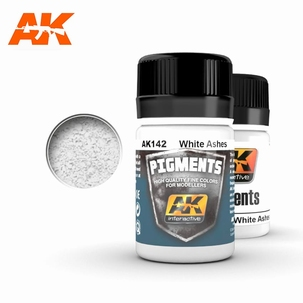 AK WHITE ASHES PIGMENT